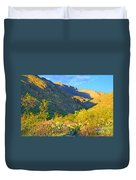 Dog Canyon Nm Oliver Lee Memorial State Park Duvet Cover