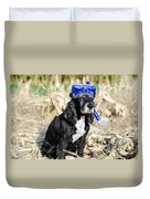 Dog With Diving Mask Duvet Cover