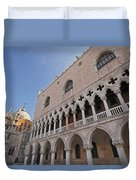 Doges Palace Off Piazza San Marco Or Duvet Cover
