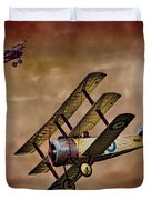 Dogfight 1918 Duvet Cover