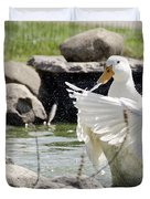 Doin The Duck Splash Duvet Cover