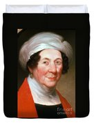 Dolley Madison Duvet Cover