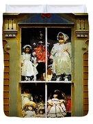 Dollhouse Gothic Duvet Cover