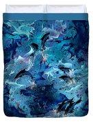 Dolphin Enchantment Duvet Cover
