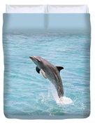 Dolphin Jump Duvet Cover