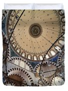 Domed Roof Of Rustem Pasa Mosque Duvet Cover