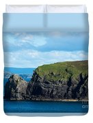 Donegal Seascape Duvet Cover