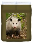 Don't Mess With Me Opossum Duvet Cover
