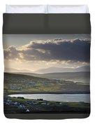 Dooagh, Achill Island, Co Mayo, Ireland Duvet Cover