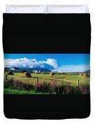 Dooega, Achill Island, County Mayo Duvet Cover