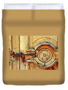 Door Study Taos New Mexico Duvet Cover