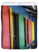 Doors Of Colors Duvet Cover