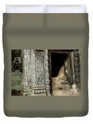 Doorway Ankor Wat Duvet Cover