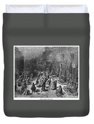 Dor�: London, 1872 Duvet Cover
