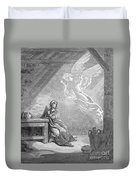 Dor�: The Annunciation Duvet Cover