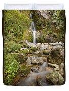 Dorothy Falls Near Lake Kaniere New Duvet Cover