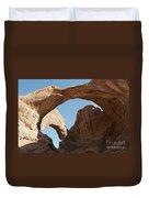 Double Arches Duvet Cover