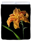 Double Day Lily Duvet Cover