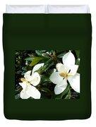 Double Magnolia Duvet Cover