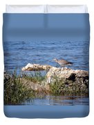 Dowitcher Duvet Cover