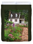 Down A Garden Path Duvet Cover