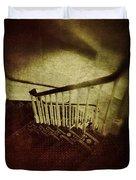 Down A Staircase Duvet Cover
