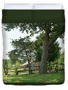 Down The Lane To The Cabin 3 Duvet Cover