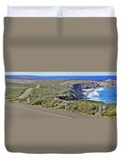 Down To The Rocks Duvet Cover