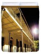Downtown Balcony Baton Rouge Duvet Cover