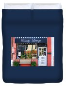 Downtown Beauty Lounge Duvet Cover