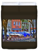 Downtown Georgetown Duvet Cover