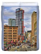 Downtown Hdr Duvet Cover