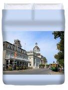 Downtown Kingston Duvet Cover