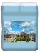 Downtown Montgomery Duvet Cover