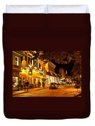 Downtown Newport Duvet Cover