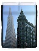 Downtown San Francisco 2 Duvet Cover