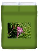 Downy Clematis Duvet Cover