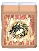 Dragon Fire Duvet Cover