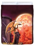 Dragon Lord Duvet Cover