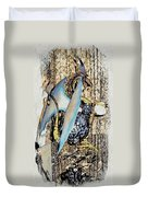 Dragon Reflexions And Repetition Duvet Cover