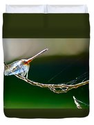 Dragonfly In The Wind Duvet Cover