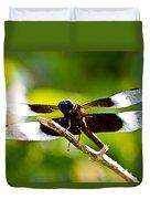 Dragonfly Stalking Duvet Cover
