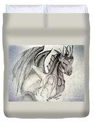 Dragonheart - Bw Duvet Cover