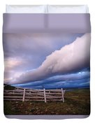 Dramatic Cloud Formations Duvet Cover