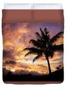 Dramatic Fiji Sunrise Duvet Cover