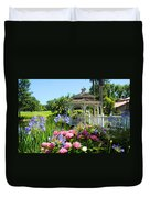 Dream Gazebo Duvet Cover