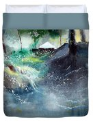 Dream House 2 Duvet Cover by Anil Nene