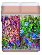 Dreaming Night And Day Duvet Cover