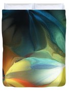 Dreaming Night Blooms 2 Duvet Cover