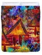 Dreamland - My Imaginary Getaway Duvet Cover